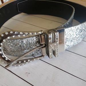 Guess Belt in Glitter